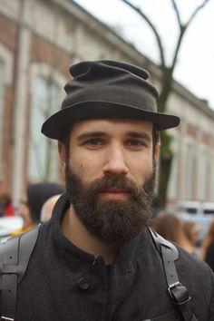 Hairy Men, Bearded Men, Beard Styles, Hat Styles, Beard Look, Awesome Beards, Beard Care, Hats For Men, Lust