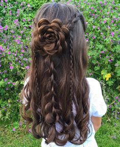 Punkte Like, 48 Punkte - Braid . - Punkte Like, 48 Punkte – Bra. Punkte Like, 48 Punkte - Braid . - Punkte Like, 48 Punkte – Braid … - hairstyles Box Braids Hairstyles, Braided Hairstyles For Wedding, Flower Girl Hairstyles, Little Girl Hairstyles, Pretty Hairstyles, Hairstyle Ideas, Rose Hairstyle, Heart Hairstyles, Hair Ideas