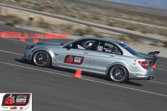 Hartmut Feyhl in his #Renntech C74 Mercedes-Benz on the Wilwood Disc Brakes Speed/Stop Challenge at #OUSCI 2011