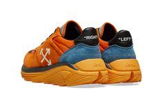 the latest 822a6 eada3 Off-White Drops Jogger Sneaker in Orange   White   HYPEBEAST