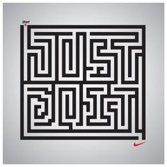 Nike - Just Do It maze