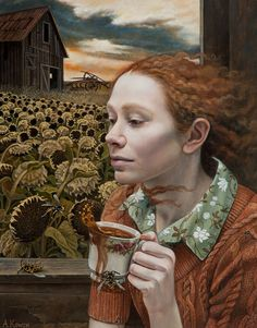 Andrea Kowch was such a mysterious painter. Enjoy RUSHWORLD boards, ART A QUIRKY SPOT TO FIND YOURSELF, EYE CANDY ARCHITECTURAL MASTERPIECES and UNPREDICTABLE WOMEN HAUTE COUTURE. Follow RUSHWORLD! We're on the hunt for everything you'll love!