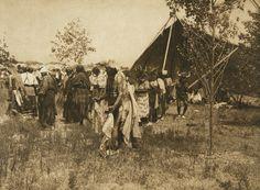 The wolf, animal dance - Cheyenne (The North American Indian, v. XIX. Norwood, MA, The Plimpton Press, 1930)