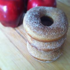 Baked Apple Cider Donuts - We LOVED these.  Very good flavor, tender, and SO good with a cup of cocoa on a cold morning.  It made 7 doughnuts.  Will be doubling next time!!  :)