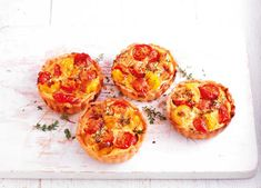 Image: Best of British tomato tarts
