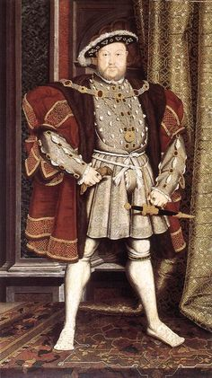 Henry VIII: 1537 by Hans Holbein the Younger (Walker Art Gallery, Liverpool) - Renaissance . and yes Hans Holbein the Younger was born in Augsburg. Anne Boleyn, Anne Of Cleves, Marie Tudor, Dinastia Tudor, Tudor Rose, Jane Seymour, Tudor History, British History, Henri 8