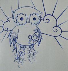 owl art by alhely