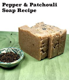 This palm free cold process soap recipe is scented with spicy pepper and patchouli, clove and cinnamon essential oils. Learn how to make this homemade soap using the cold process soapmaking method.