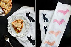Dog-I-Y: Modern DIY Dog Breed Tea Towels - Dog Milk