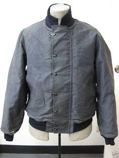 Vintage 1940's US Navy deck jacket