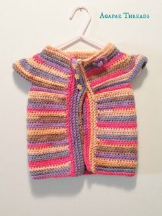 Crochet Sweater Cardigan for Toddler Girl, Toddler Vest, Sweater Crocheted, Easter Accessory
