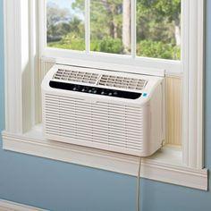 The World's Quietest Window Air Conditioner - Hammacher Schlemmer