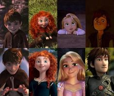 Rotbtd Avatar | hiccup, jack frost, merida, rapunzel, the big four