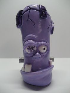 Kracked Up is a Shift Knob, Tap Handle, or Sculpture... Available at www.theboneyardsculpts.bigcartel.com