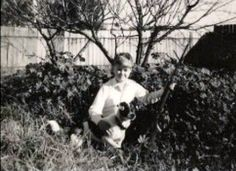 My son in the back garden of our house in Lamaroo, South Australia 1967   Memories of an Irish Mother of Emigrating to Australia in 1967