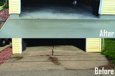 Your detached garage floor replacement can be easily removed & installed with Goodmanson Construction's efficient and knowledgeable team. Concrete Floor Repair, Repair Cracked Concrete, Concrete Floors, Small Log Homes, Small Log Cabin, Log Cabin Floor Plans, Small Floor Plans, Flooring Options, Flooring Ideas