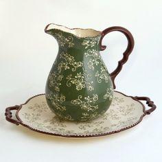 temp-tations® by Tara: temp-tations® Floral Lace Pitcher and Platter Set!!!   ~XOX   #MomAndSonCookingTeam
