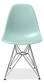 Eames® Molded Plastic Chairs With Chrome Wire Base   Desks U0026 Chairs   Kids    Room U0026 Board