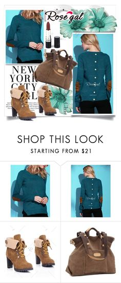 """""""Sweater For Women"""" by fashionb-784 ❤ liked on Polyvore featuring H&M, fashionable and rosegal"""