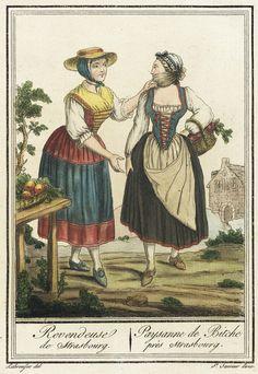 1797 merchant from Strasbourg 18th Century Dress, 18th Century Costume, 18th Century Clothing, 18th Century Fashion, Historical Costume, Historical Clothing, European Clothing, Memento Mori, Vintage