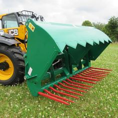 Albutt Shear Grabs with Hardox cutting blade, double skinned front grab, heavy duty thick wall box sections, hardox base tines; Data Sheets, Shearing, Clamp, All Over The World, Agriculture, Type, Design