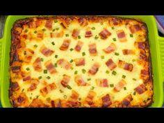 Cartofi Carbonara: odată ce-i gustați, nu veți mai face altfel cartofii . Brunch Recipes, Meat Recipes, Cooking Recipes, Romanian Food, Antipasto, Food Videos, Food Inspiration, Carne, Macaroni And Cheese