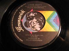 Rodney Jones & Willie Henderson - Loose Booty b/w The Whole Thing - Brunswick - Funk