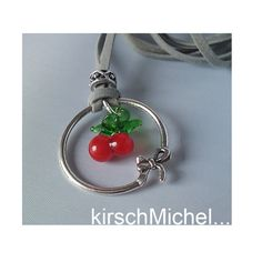 *KirschMICHEL*  KC24 KIRSCH LAMPWORK BETTELKETTE von pomp & jewels auf DaWanda.com