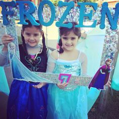 Frozen  Picture Frame