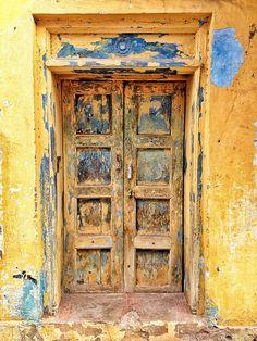 Indian door Madurai by Adamjasonmoore, via Flickr