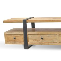 - TV Unit Models & Ideas - Phoenix Reclaimed Lowline TV Entertainment Unit - - H Create a stylish industrial-inspired. Wood Tv Unit, Tv Entertainment Units, Tv Stand Designs, Diy Workbench, Tv Unit Design, Wood Nightstand, Decoration, Home Projects, Furniture
