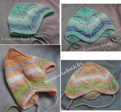 knit baby hat,örgü bebek bere