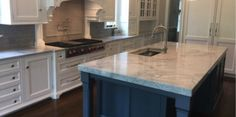 "Marble gives you a timeless, classic look that is truly ""Unique"". Find out how you can use Marble in the Kitchen for your next home renovation project."