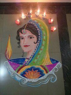 Indian Art Paintings, Diwali, Costume Jewelry, Disney Characters, Fictional Characters, Aurora Sleeping Beauty, Costumes, Disney Princess, Design