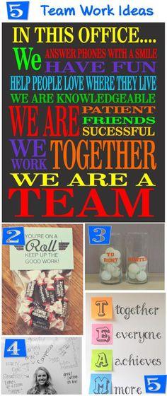 5 Teamwork Ideas