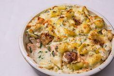 Conchiglie frutti di mare – mixed seafood pasta bake