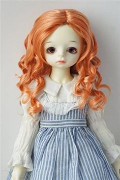 Amazon.com: JD259 8-9inch 21-23CM Lady Roll BJD Doll Wigs 1/3 SD Synthetic Mohair Doll Accessories (Orange) Doll Wigs, Bjd Dolls, Orange Rolls, Amazon Art, Sewing Stores, Doll Accessories, Sd, Sewing Crafts, This Or That Questions