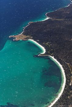 Booming Bay on Maria Island, Tasmania