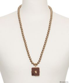 Luxe Chocolat Pearl Necklace