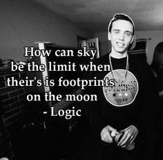Logic is my role model/favorite rapper.