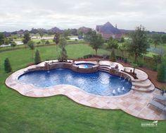Natural / Freeform Pool #069 by Southernwind Pools