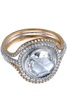 Irene Neuwirth Multicolor Gold & Diamond Ring