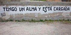 Tengo un alma y esta cargada #Acción Poética Murcia #accionpoetica