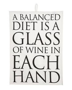 Glass if wine in each hand