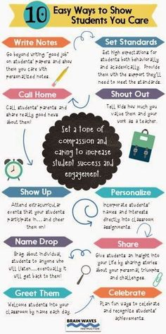 10 Easy Ways to Show Students You Care