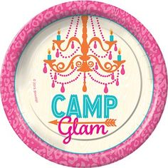 Camp Glam Dessert Plates