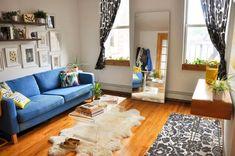 Фото из статьи: 10 советов дизайнеров, которые помогут сделать маленькую гостиную идеальной