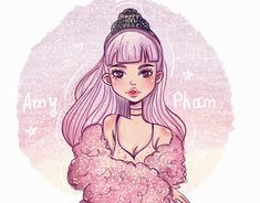 Find Princess Girl Illustration Cartoon Art Pink stock images in HD and millions of other royalty-free stock photos, illustrations and vectors in the Shutterstock collection. Hipster Drawings, Cute Drawings, Pencil Drawings, Skull Drawings, Character Inspiration, Character Art, Character Design, Manga Drawing, Drawing Faces