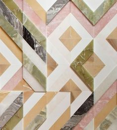 Fishbone Wall Inlay_Patricia Urquiola: