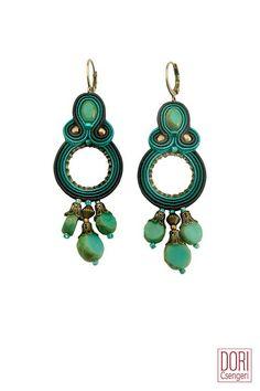 CYT-E454 , turquoise earrings ,